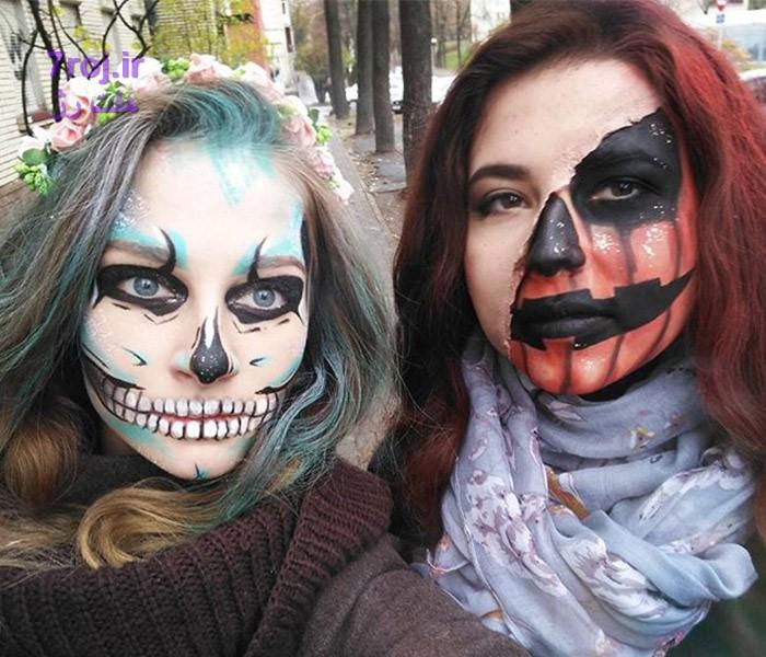 همه چیز درباره آرایش و استایل ساده برای جشن هالووین