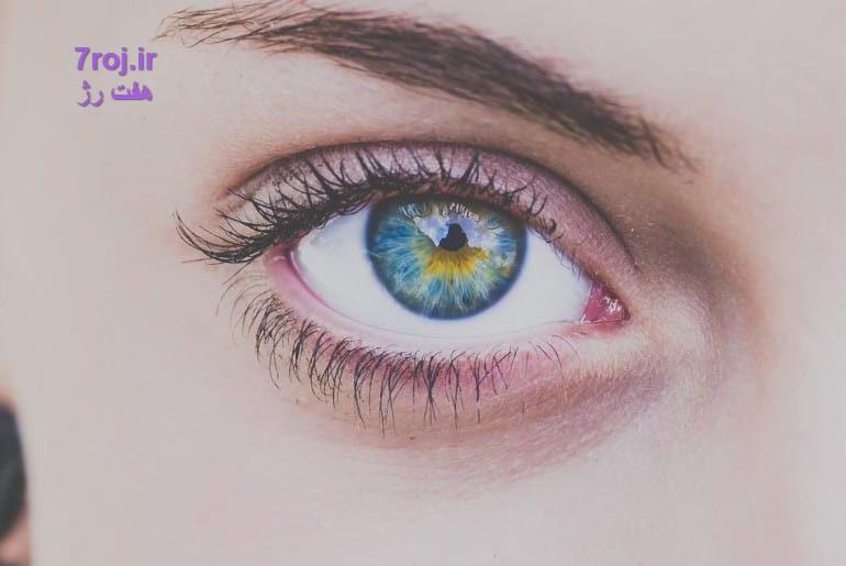 روش سایه زدن اصولی فرم چشم