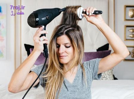ترمیم موهای سوخته با دکلره