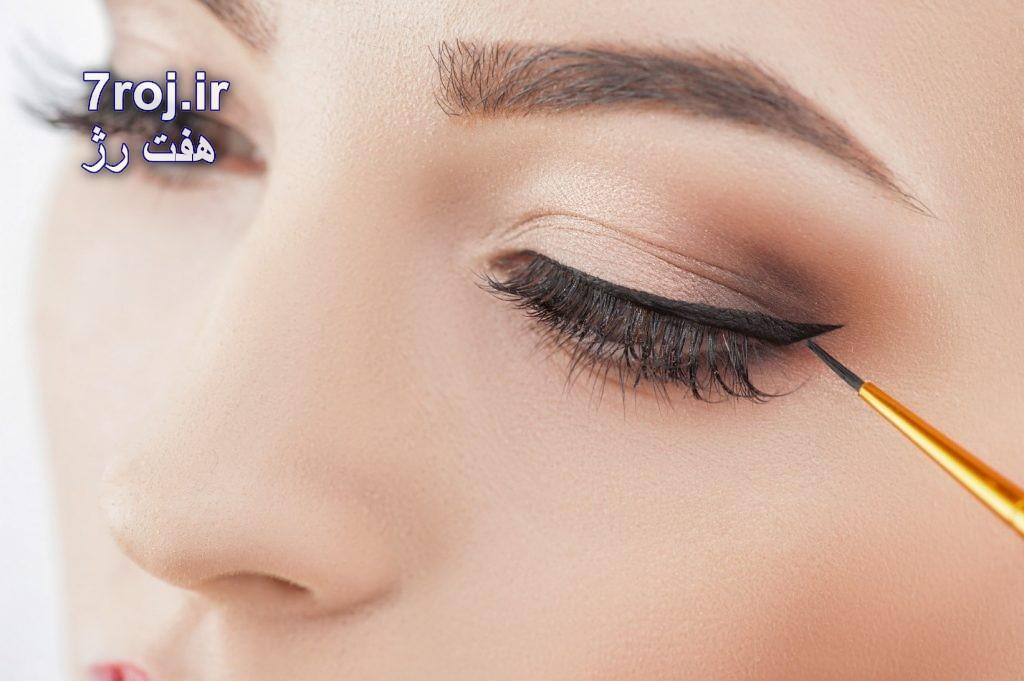 خط چشم برای چشمهای درشت
