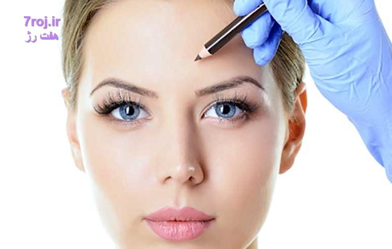 درمان افتادگی ابرو با جراحی چگونه است؟