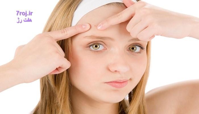 استفاده از پاک کننده آرایش برای جلوگیری جوش صورت