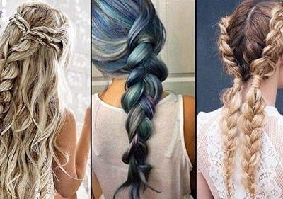 چگونه موهای خود را با مدل تیغ ماهی ببافید؟