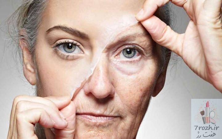 راه های جلوگیری پیری پوست