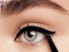 ترفندهای خط چشم مخصوص چشم های درشت