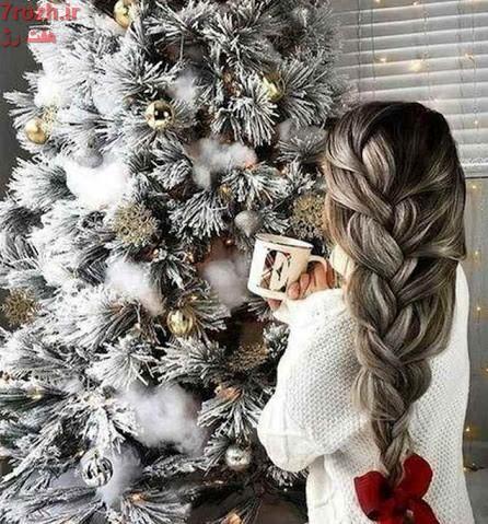 مدل مو مخصوص کریسمس 2021