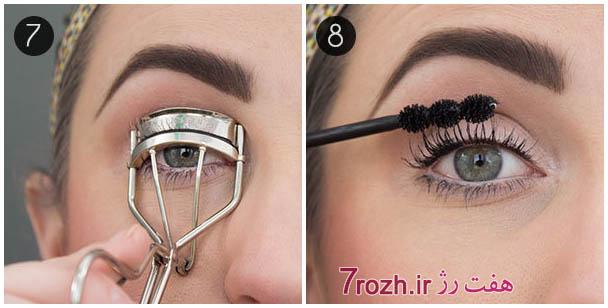 درشت نشان دادن چشم با ترفندهای آرایشی