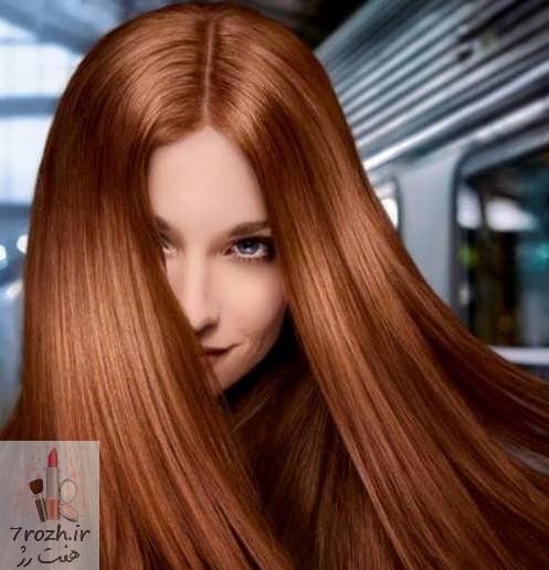 رنگ موی شکلاتی در طیف مختلف
