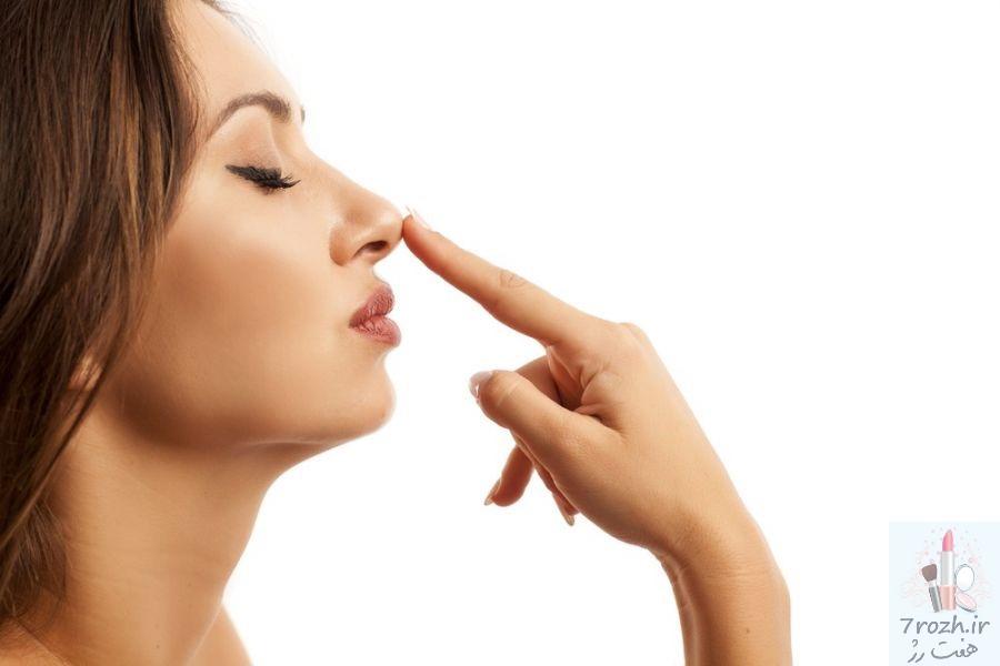 باریک کردن بینی با ترفند آرایش