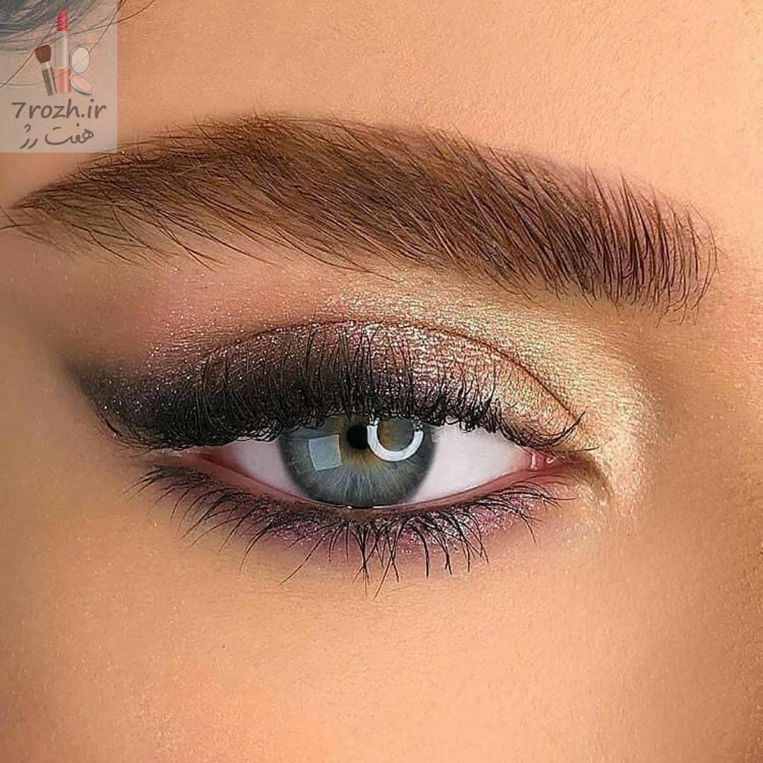 آرایش چشم دخترانه ترند سال 2021