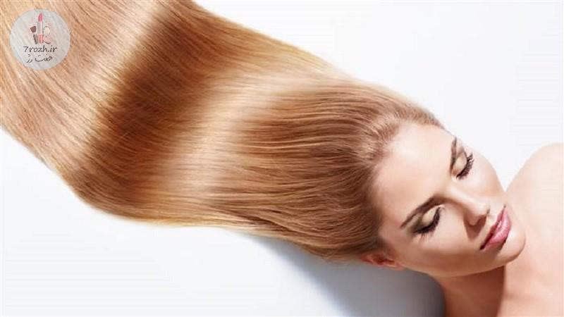 راز داشتن موهای پرپشت و درخشان