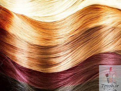 6 روش پاک کردن رنگ مو