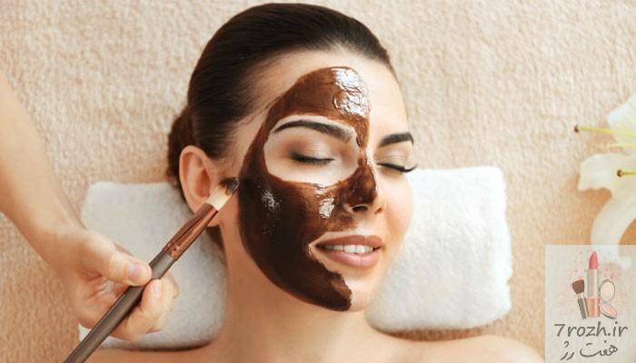 14 ماسک صورت شکلاتی