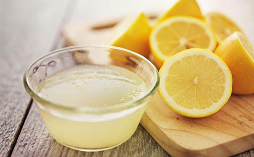 اسکراب خانگی با لیمو ترش