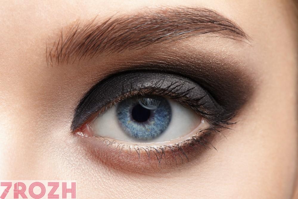انتخاب بهترین پالت سایه براساس رنگ چشم