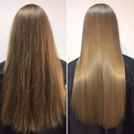 آموزش کراتین کردن مو در منزل با مواد طبیعی